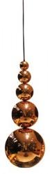 Innermost Bubble tagpendel - Copper