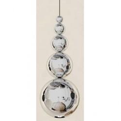 Innermost Bubble tagpendel - Sølv