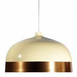 Innermost Glaze tagpendel - Ø56, Creme/Copper