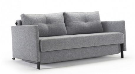 Innovation Cubed Deluxe 160 Sovesofa Granit grå