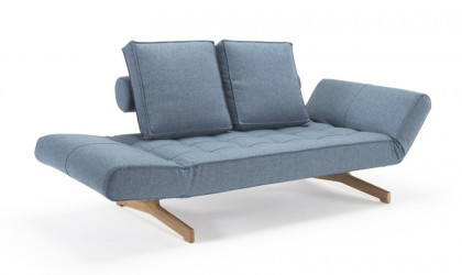 Innovation Ghia Wood Daybed Lys blå
