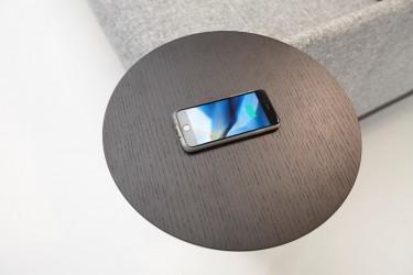 Innovation Sidebord med trådløs lader
