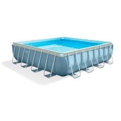 Intex Prism firkantet rammepool - 16.650 liter