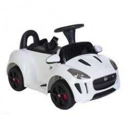 Jaguar elbil - F-Type - Hvid