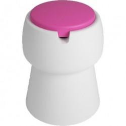 Jokjor champ skammel (hvid/pink)