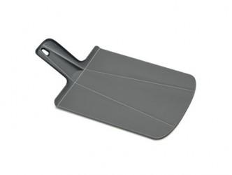 Joseph Joseph Skærebræt Chop 2Pot Plus grå