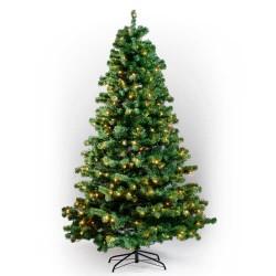 Juletræ med lys - H 150 cm