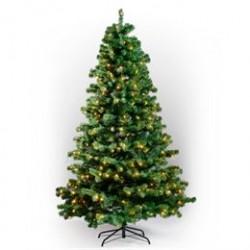 Juletræ med lys - H 210 cm