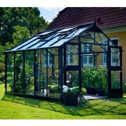 Juliana drivhus - Premium - 10,9 m² - Antracit