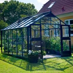 Juliana drivhus - Premium - 13 m² - Antracit