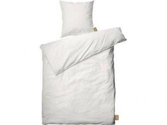 Juna Cube Sengetøj Hvid 140 x 200 cm