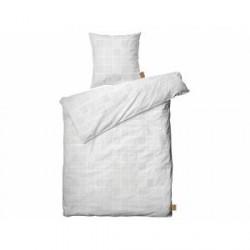Juna Nanna Ditzel Sengetøj Grå, Hvid 140 x 200 cm
