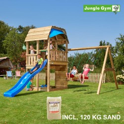 Jungle Gym Barn legetårn med gyngemodul