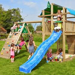 Jungle Gym Fort legetårn med klatremodul