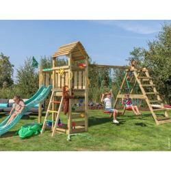 Jungle Gym Safari legetårn med klatremodul