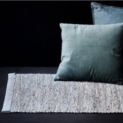 Jute tæppe i grey - 65x135 cm