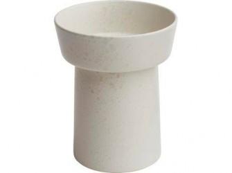 Kähler Ombria Vase Marmorhvid 21 cm