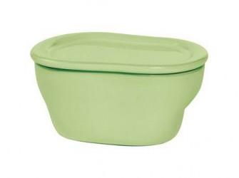 Kähler Ovnfast skål Grøn 11 cm