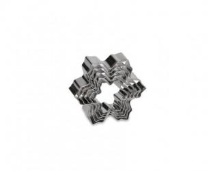 Kagestempel snefnug 5 st. stål - 3,8-6 c
