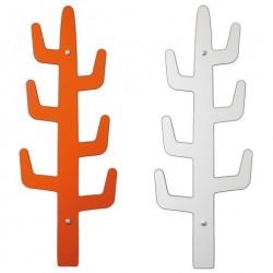 Kaktus knagerÆkke (orange/hvid)