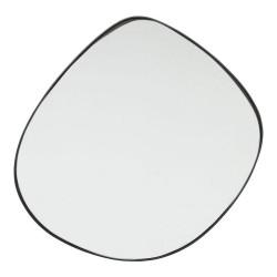 KARE DESIGN asymmetrisk Göteborg vægspejl - spejlglas og sort stål