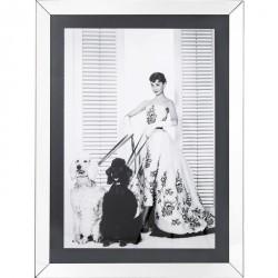 Kare Design Billede, Frame Princess Diva 120 x 90 cm