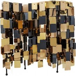 KARE DESIGN City Nights Squares gulvlampe - guld/kobber/sort stål (180cm)