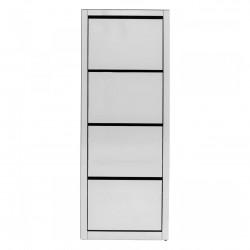 KARE DESIGN Container Luxury Quatto skoskab, m. 4 låger - spejlglas