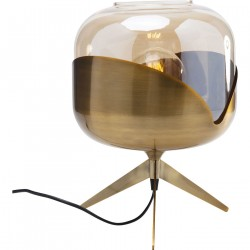 KARE DESIGN Golden Goblet Ball bordlampe - farvet glas/messingbelagt stål