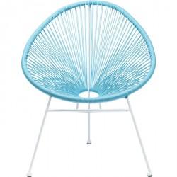 Kare Design Havestol, Spaghetti Lys Blå