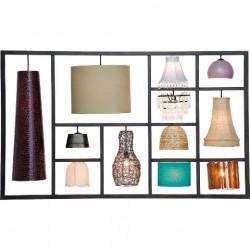 KARE DESIGN Parecchi Art House væglampe - stål og lamper i forskellige farver
