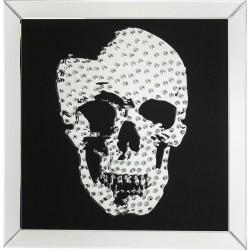 KARE DESIGN Plakat, Rockstar - Sort/sølv, (80x80cm)
