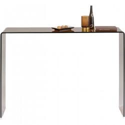 KARE DESIGN rektangulær Visible Amber konsolbord - glas (120x30)