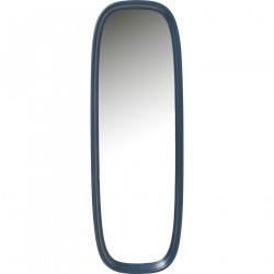 KARE DESIGN Salto Bluegreen vægspejl - spejlglas og blå/grønt plastik (140x80)