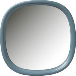 KARE DESIGN Salto Mint vægspejl - spejlglas og mintgrøn plastik (100x100)