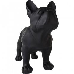 KARE DESIGN Skulptur, Toto Teen Schwarz Matt - Sort Glasfiber, (160x200cm)