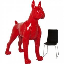 KARE DESIGN Toto XL Red skulptur - rødt glasfiber