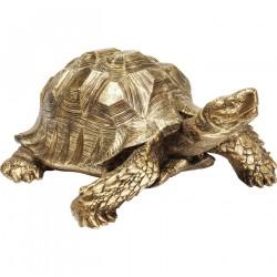 KARE DESIGN Turtle Gold skulptur - guld polyresin
