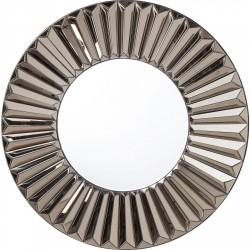 KARE DESIGN Upper Class vægspejl - spejlglas, rundt (Ø100)