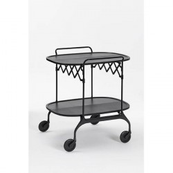 Kartell Gastone trolley - Sort