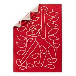Kay Bojesen Tæppe, rød
