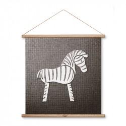 Kay Bojesen Zebra Illustration 40 x 40