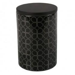 Keramik krukke (sort/hvid)