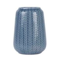 Keramisk vase (blÅ/h17 cm)