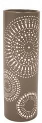 Keramisk vase (brun)