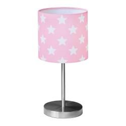 Kids Concept bordlampe - Star - Rosa/hvid