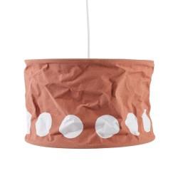 Kids Concept loftlampe - Orange/hvid