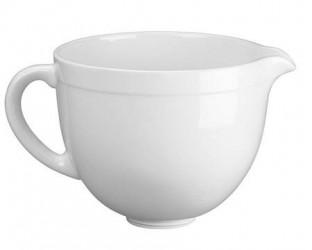KitchenAid Artisan keramikskål til køkkenmaskine hvid 4,8 liter