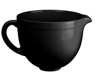 Kitchenaid CB5BM - Sort Keramikskål Til Standmixer Tilbehør Til Køkkenmaskine
