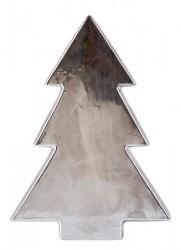 KJ Collection Figur - Træ - Keramik - Sølv - Antik - H 32,0cm - L 22,8cm - B 6,5cm - Stk.